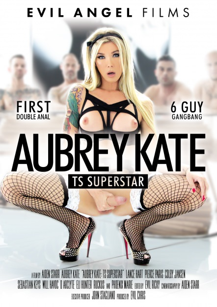Hyper-feminine transsexual superstar Aubrey Kate