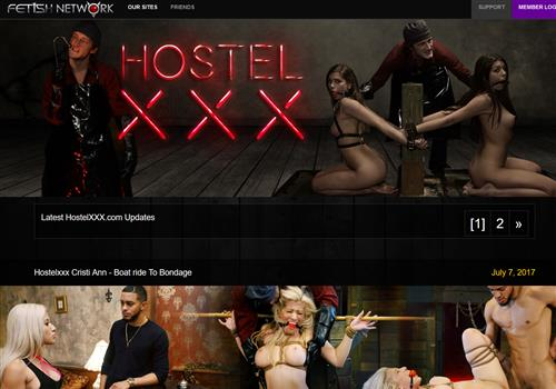 New brutal porn videos at Hostel XXX