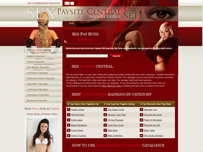 Porn Site Catalogue - Categorized Sex Pay Sites of the best quality